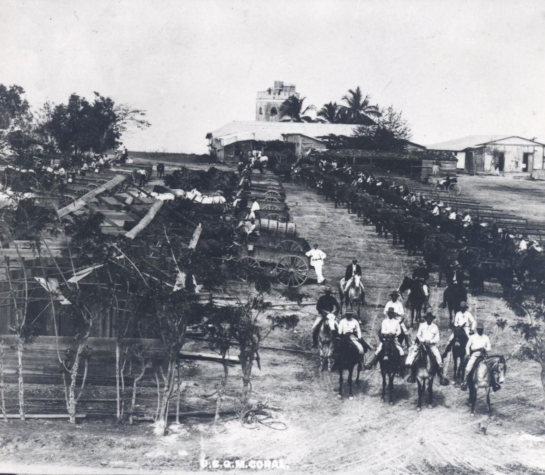 Camp in Santiago, Cuba, c. 1899