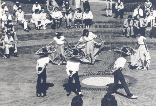 Dancers from La Amistad Youth Center, 1981