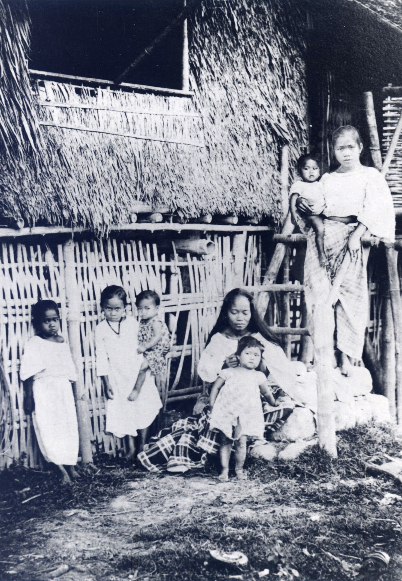 Family in the Philippines. c. 1898