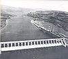 The Dalles Dam spillway, 1957