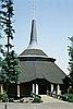 Agnes Flanagan Chapel, 1969; photograph by Marion Dean Ross.