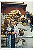 Kwan Hsu, in Beijing, 1987,. From the Kwan Hsu Papers, PSU Archives.