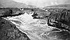 Celilo Falls, about 1910.