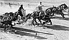 """Chariot Race"" featuring Pete Elmose, left, wearing hat."
