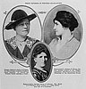 Kathryn Clarke (l) and Marian B. Towne (r), from Sunset magazine, April 1915.