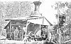 Donkey engine in the Willamette Valley, 1915.
