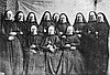 Founders of the Oregon order, Sisters of the Holy Names of Jesus and Mary, about 1859.