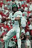 Joey Harrington playing in 2000 for the University of Oregon Football team.