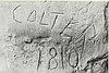 John Colter signature