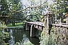 The city of Lake Oswego, Alless Bridge on Carl Jantzen House grounds.
