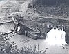 Faraday Diversion Dam, 1958