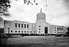 North front of the State Capitol, Salem, soon after the building was occupied, 1938-1939.