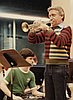Doc Severinsen practicing with the Oregon State University Symphonic Band, 1984.