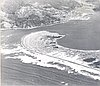 Tillamook Bay, aerial, 1968