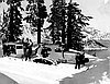 Tucker family and friends at Crater Lake, 1949.