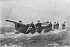 USLSS surfboat crew, Barview Station, 1908.