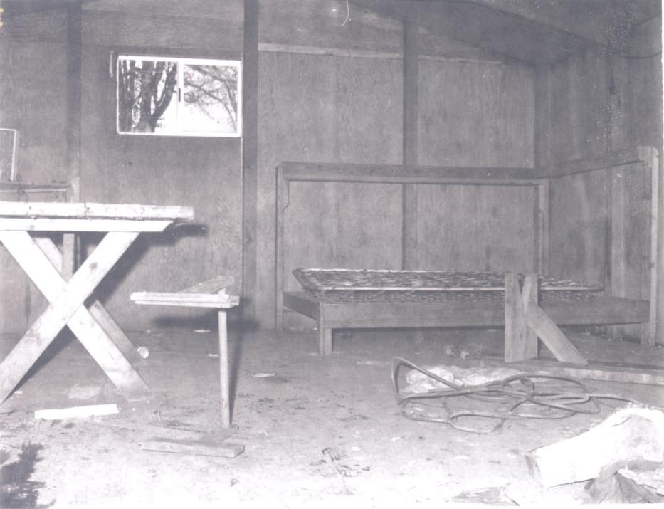 Interior of migrant worker housing