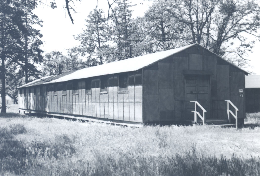 A migrant worker camp residence