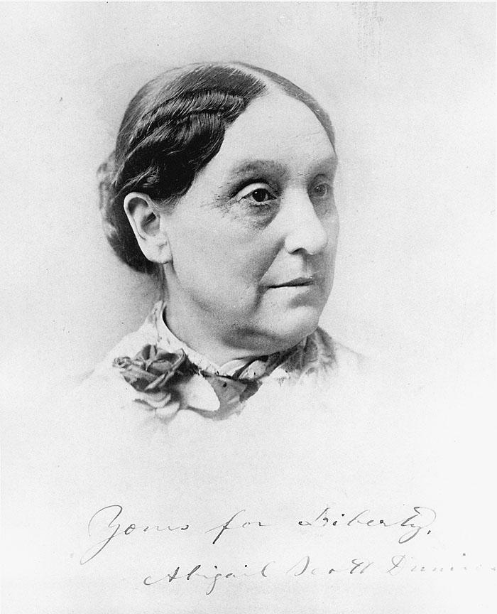 Abigail Scott Duniway, 1885