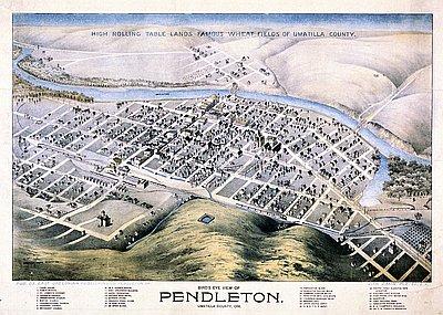 Birds Eye View Pendleton