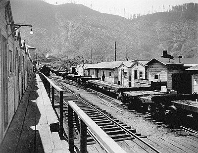 Camp Two, Coos Bay Lumber Company