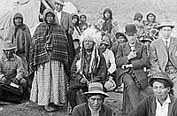 Mr Heinlein Issues Blanket & Tents to Paiutes P200