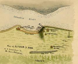 Astoria, 1846